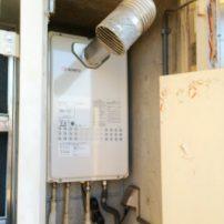 ノーリツ高温さし湯タイプの給湯器の交換